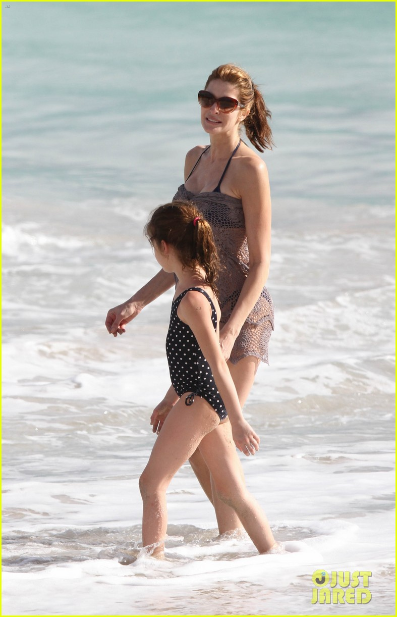 stephanie seymour st barts family vacation 12