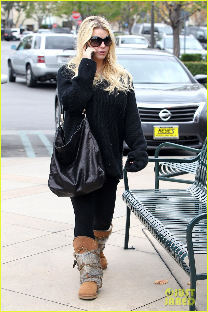 jessica simpson eric johnson kings fish house lunch 132774646