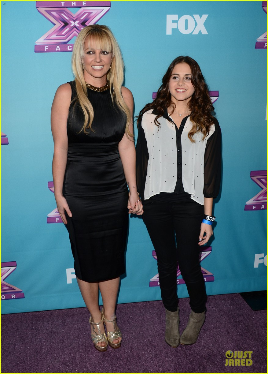 britney spears & demi lovato x factor finale conference 22