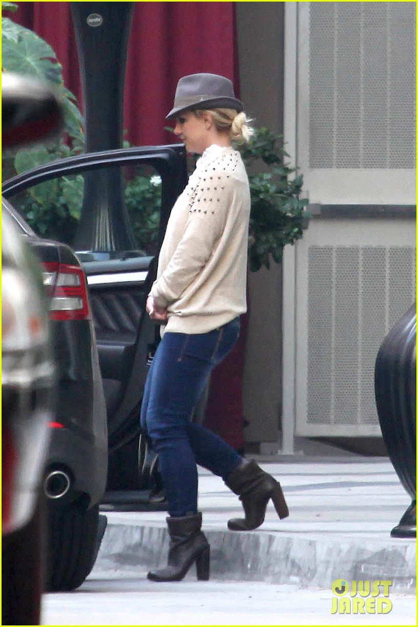 britney spears west hollywood lunch 05