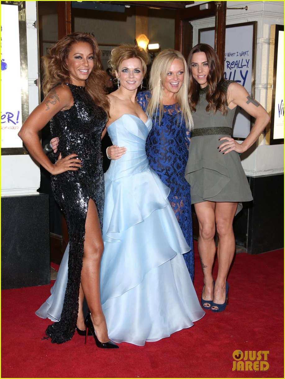 spice girls attend viva forever press night 03