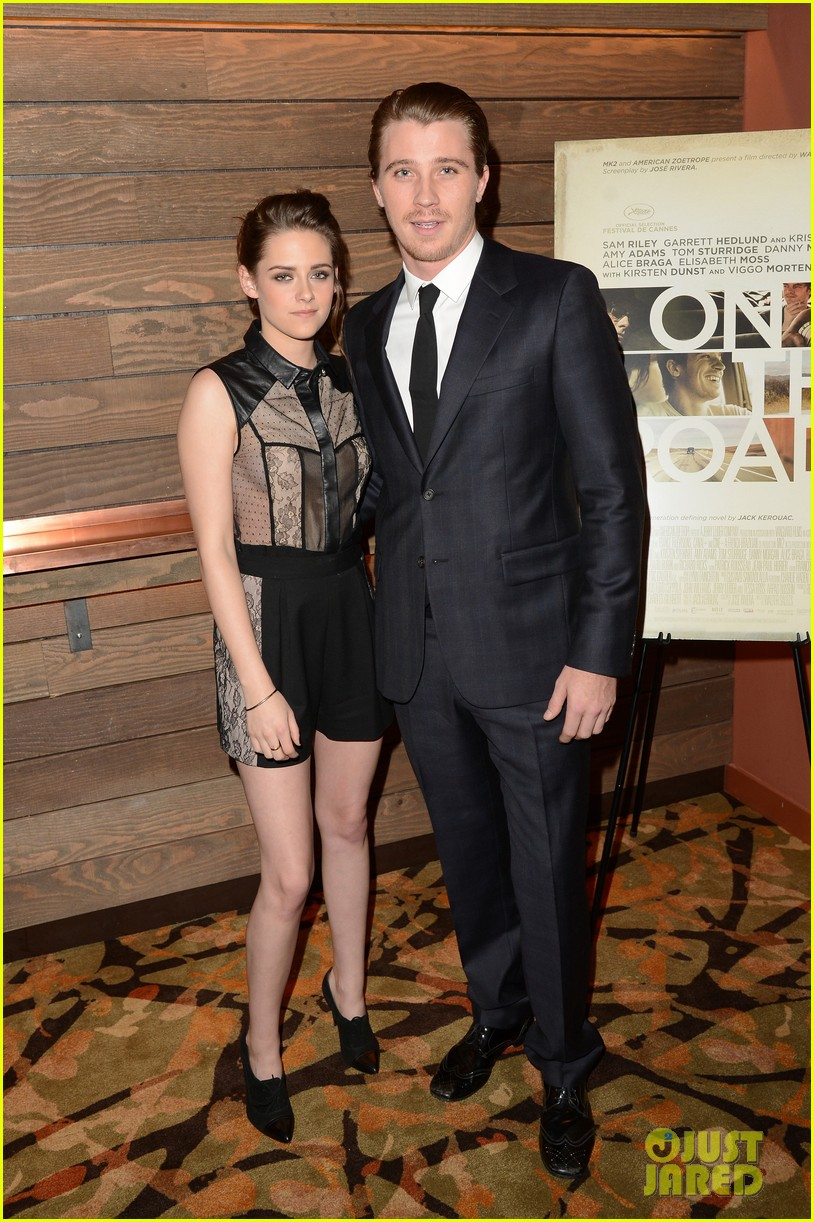 kristen stewart garrett hedlund on the road screening 052771052