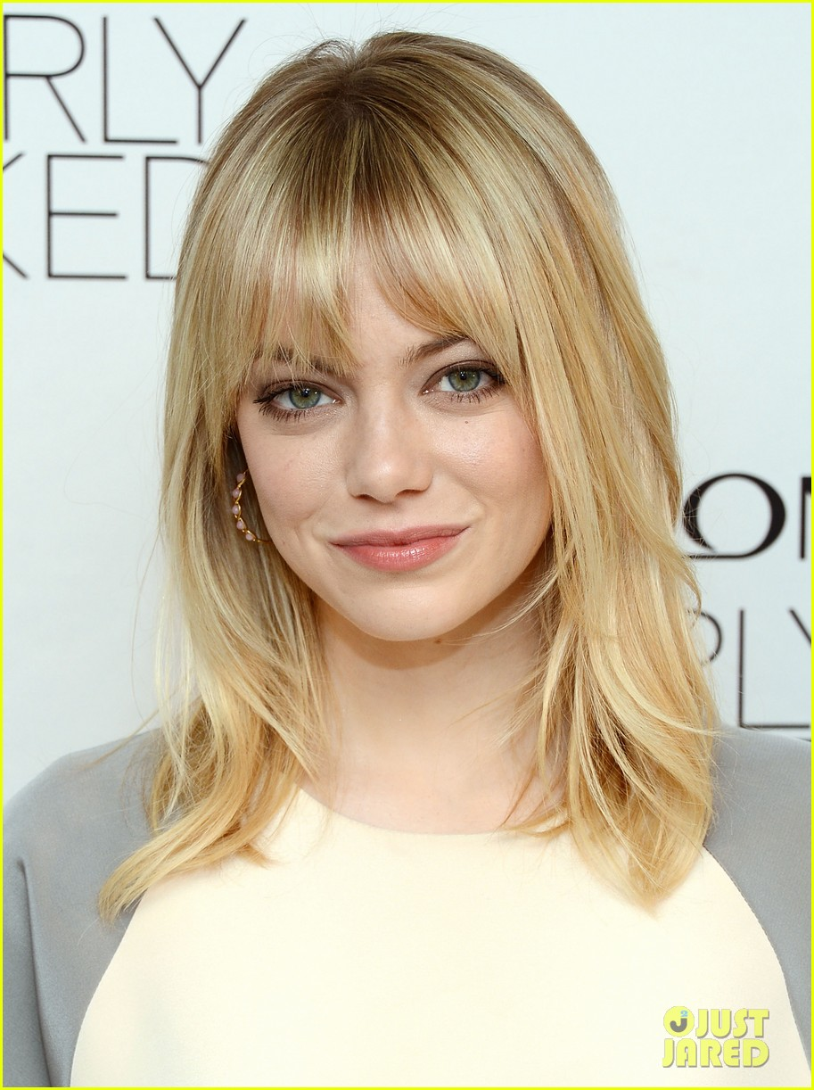 emma stone revlons nearly naked makeup launch 022769649