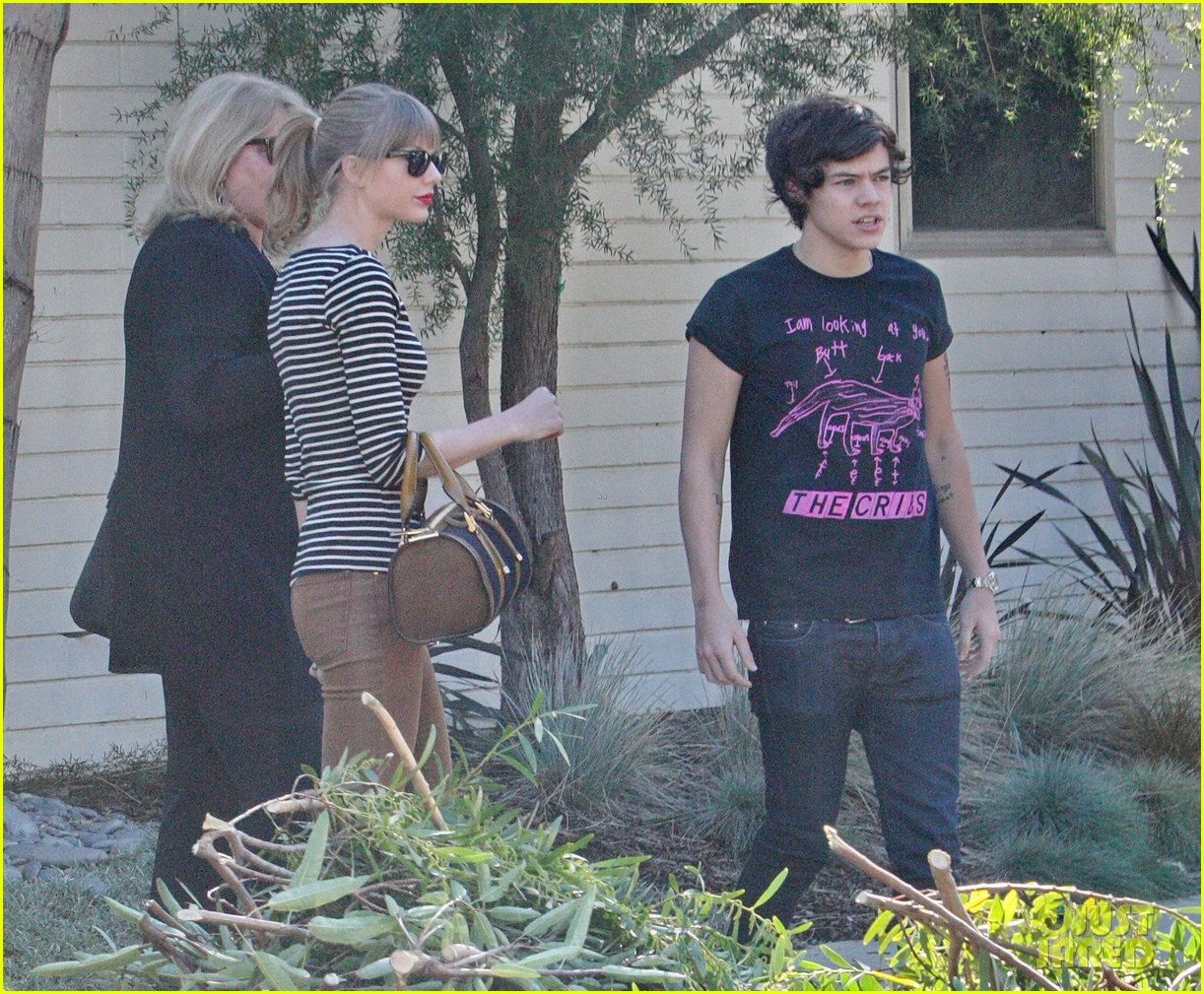 taylor swift harry styles leave her home in la 06