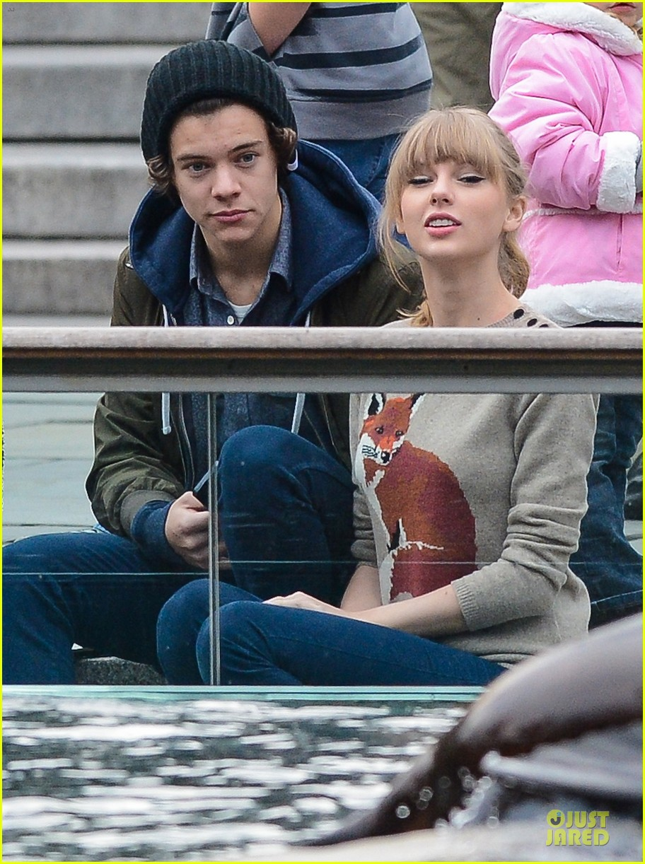 taylor swift harry styles central park stroll 04