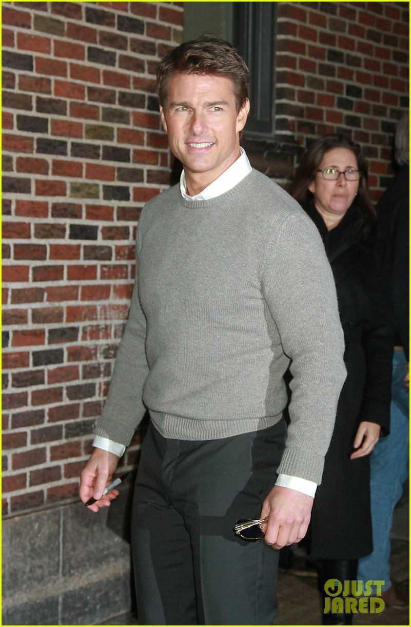 tom cruise david letterman guest 072777354