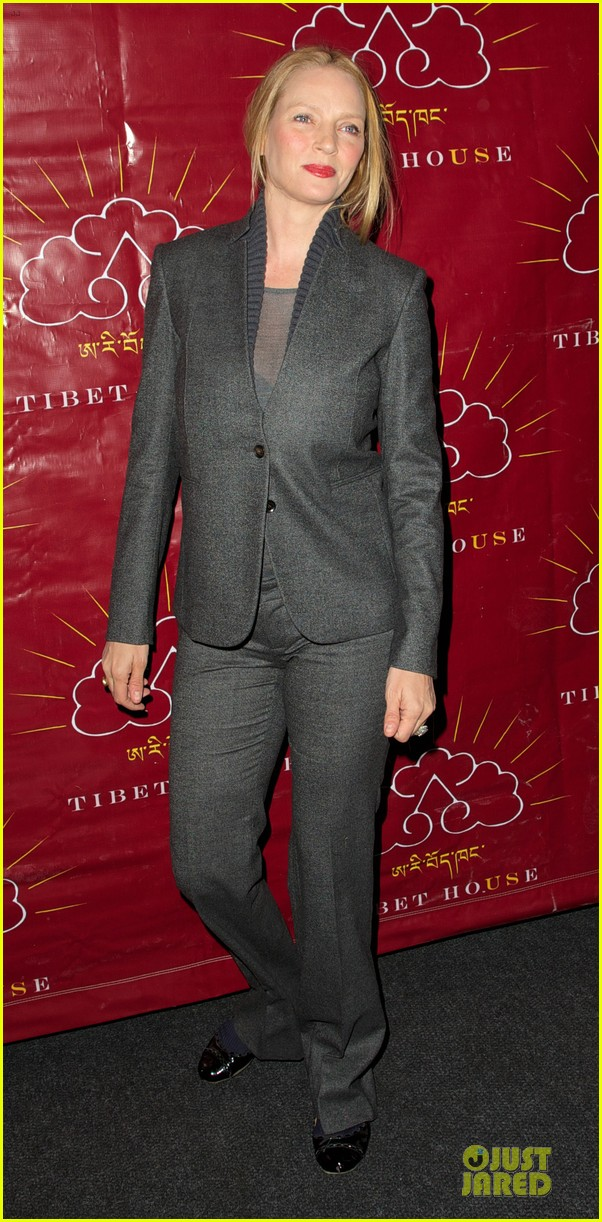 uma thurman tibet house benefit auction 03