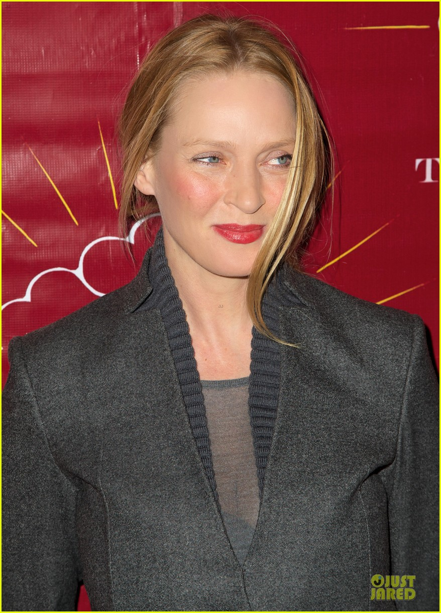 uma thurman tibet house benefit auction 122778148
