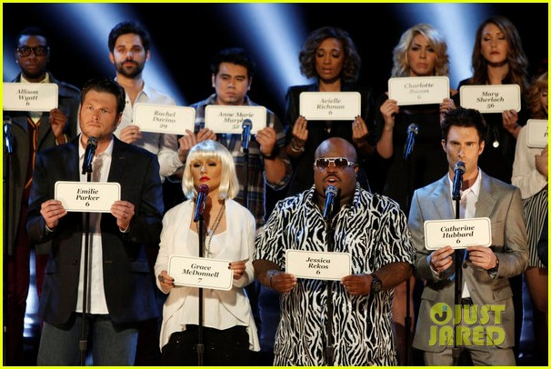 the voice tributes newtown shooting victims with hallelujah 072777850