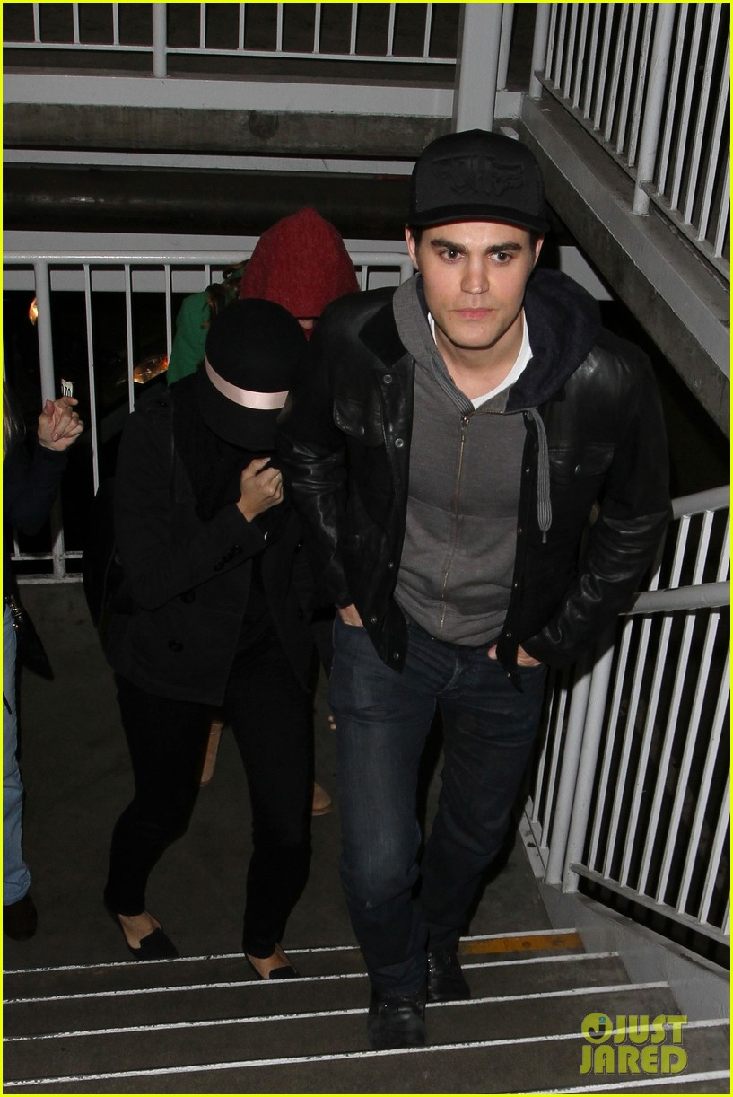 paul wesley torrey devitto les miserables date night 01