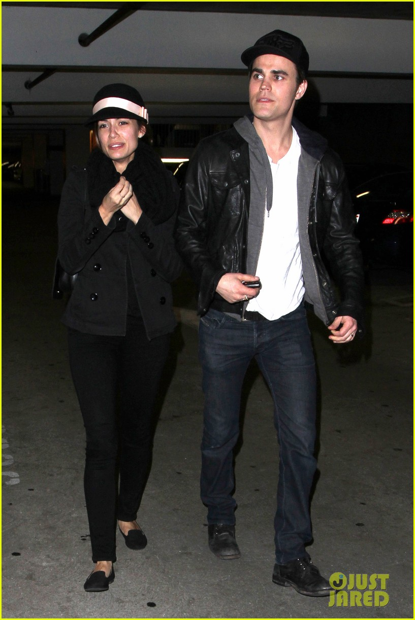 paul wesley torrey devitto les miserables date night 06