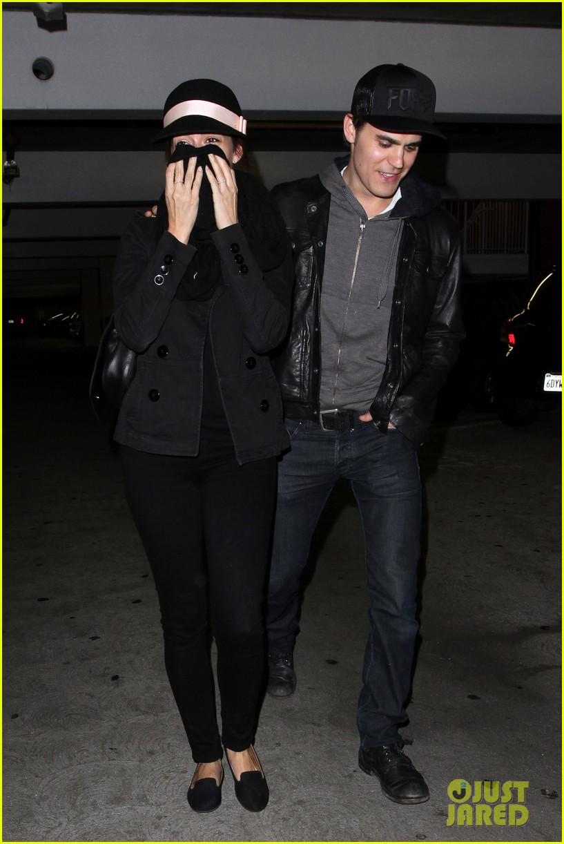 paul wesley torrey devitto les miserables date night 09