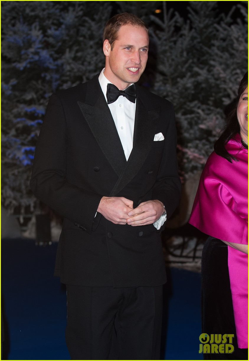 prince william winter whites gala without pregnant kate middleton 122771910