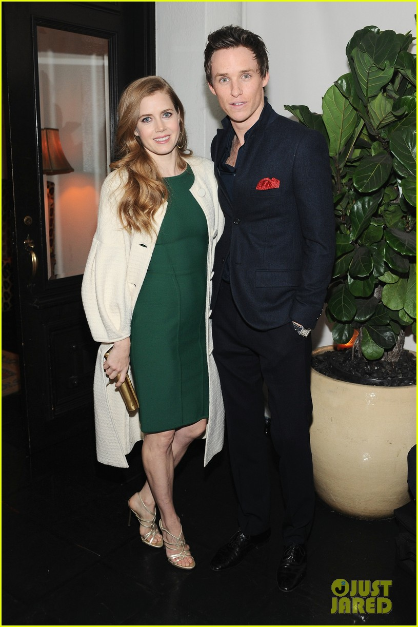 amy adams eddie redmayne w magazine pre golden globes party 07