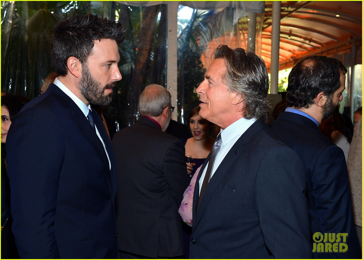 ben affleck george clooney afi awards 2013 red carpet 15