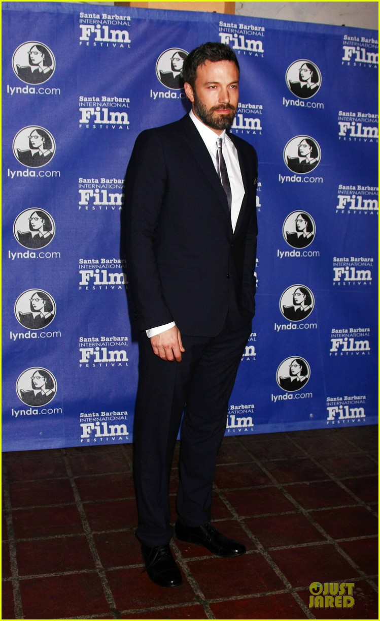 ben affleck santa barbara international film festival modern master award recipient 01
