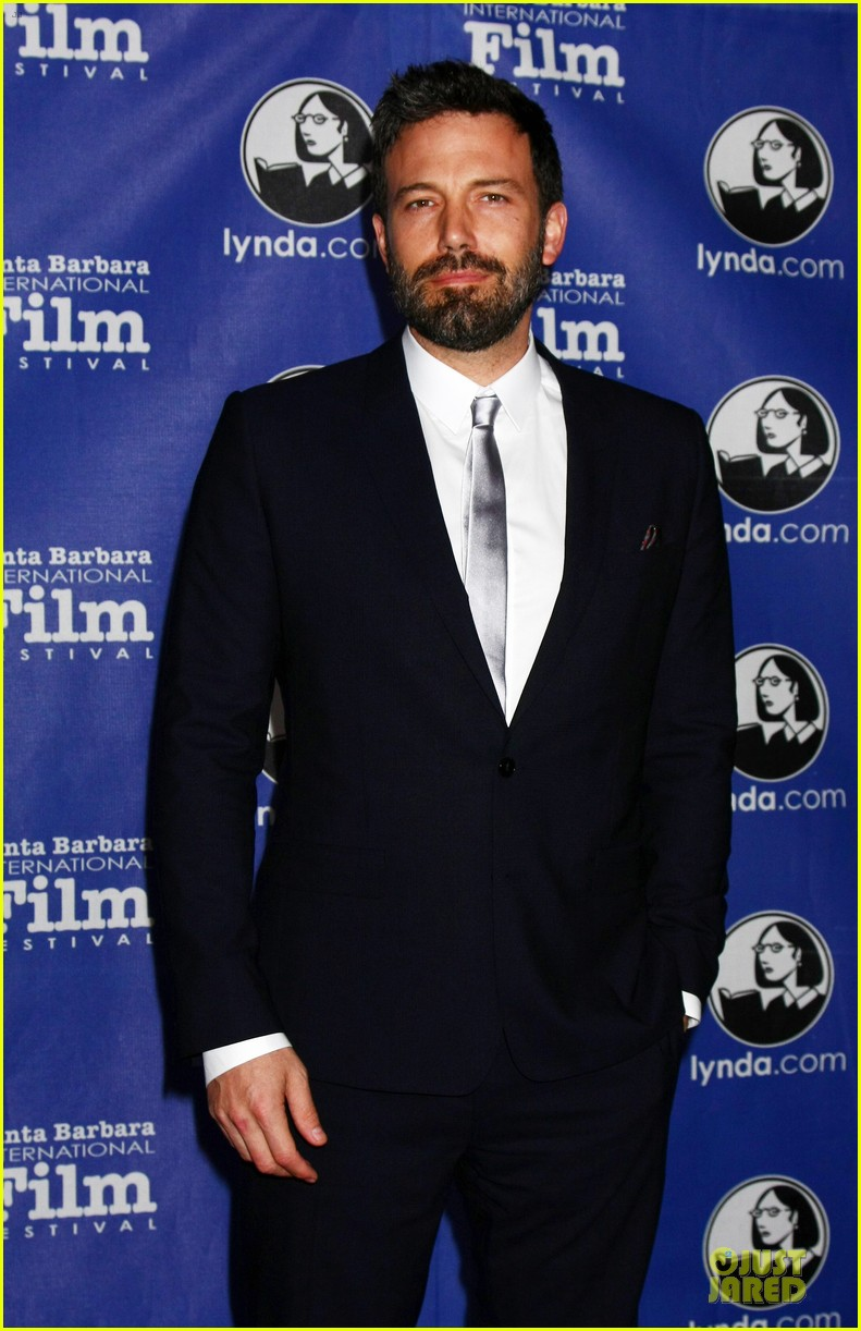 ben affleck santa barbara international film festival modern master award recipient 05