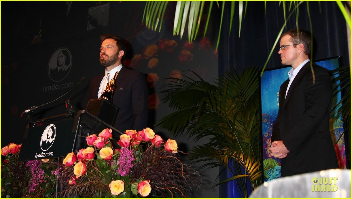 ben affleck santa barbara international film festival modern master award recipient 13