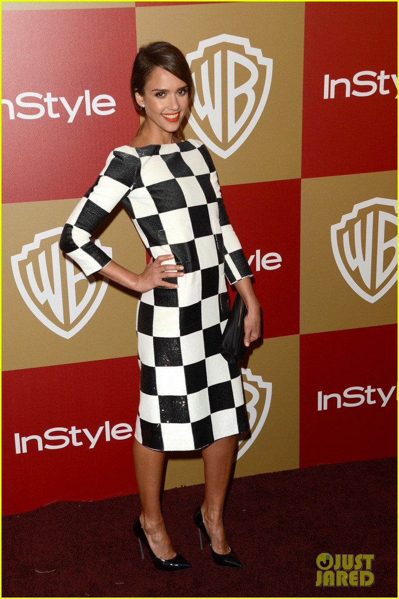 jessica alba sophia bush instyle golden globes party 012791992