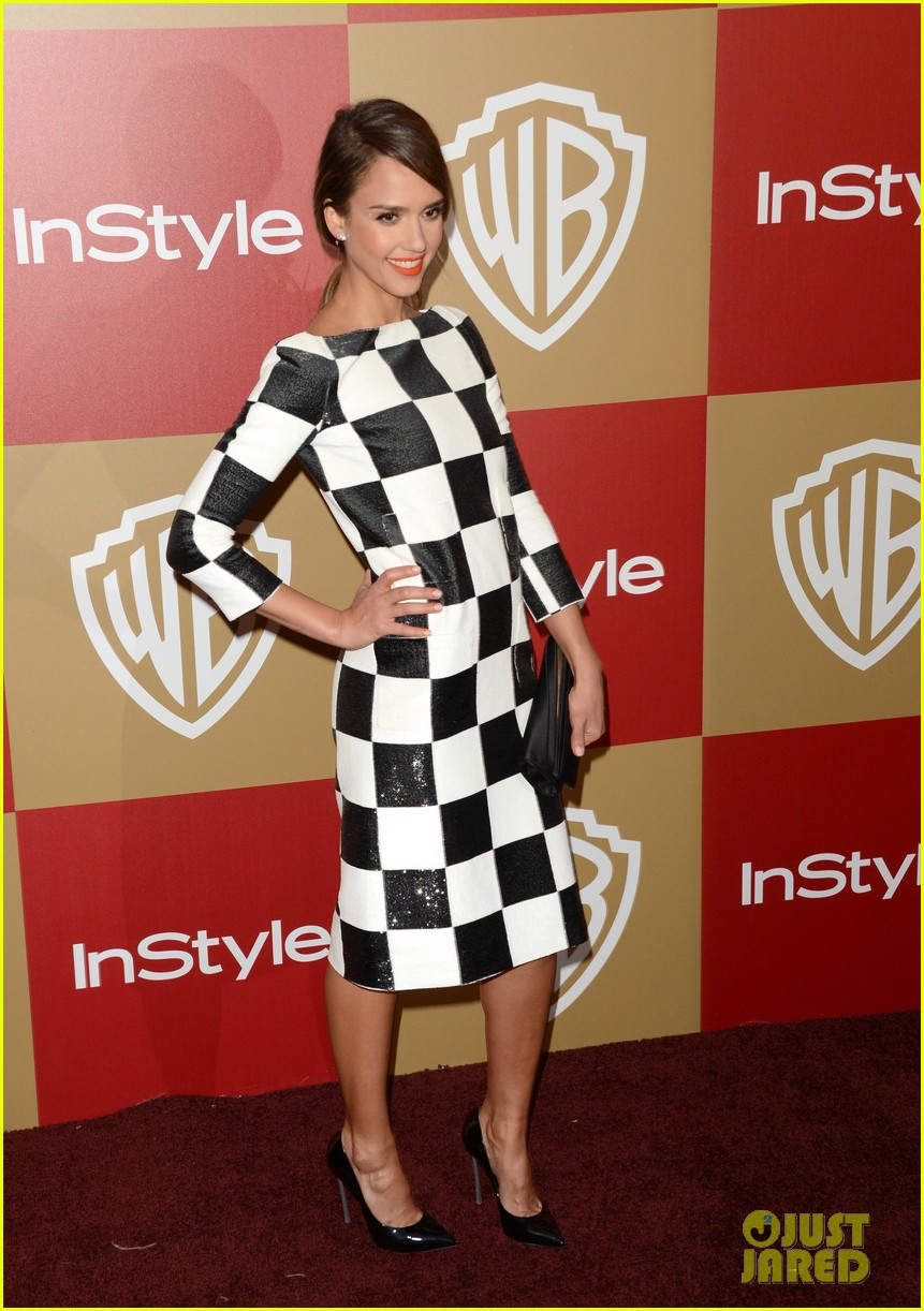 jessica alba sophia bush instyle golden globes party 06