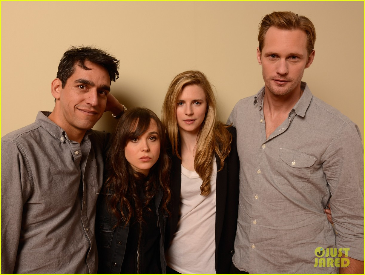 alexander skarsgard ellen page the east portraits 10