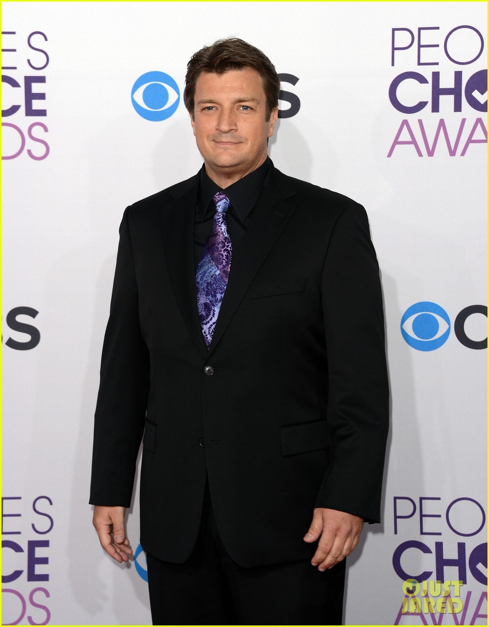 morena baccarin nathan fillion peoples choice awards 2013 062787914
