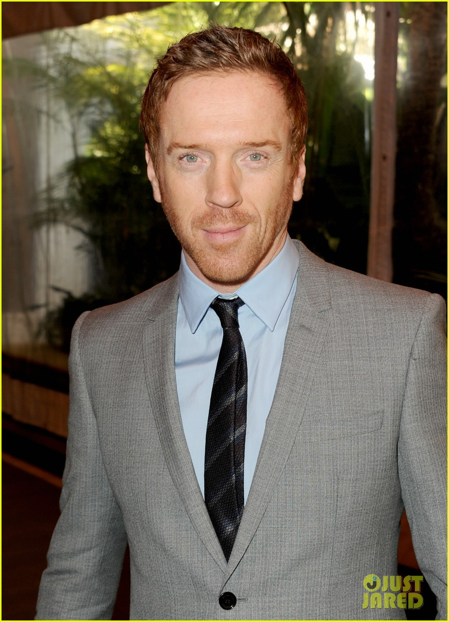 morena baccarin damian lewis w magazine pre golden globes party 062789834