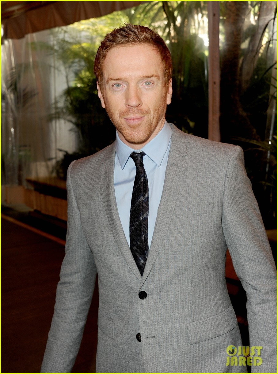 morena baccarin damian lewis w magazine pre golden globes party 072789835