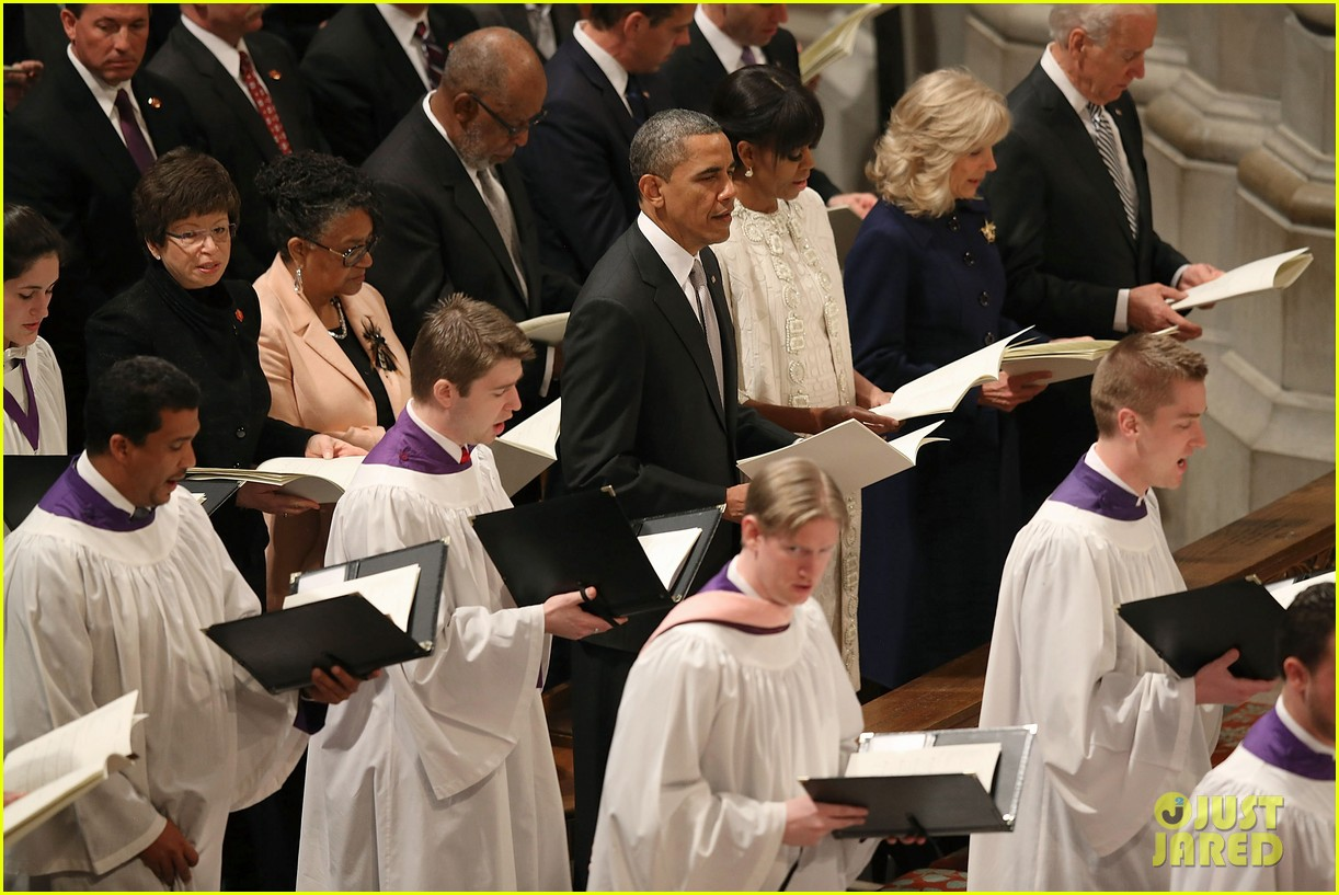 barack michelle obama national prayer service after inauguration 14