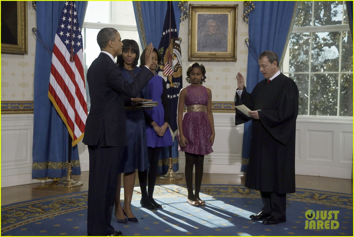 president barack obama sworn into office launches second term 01