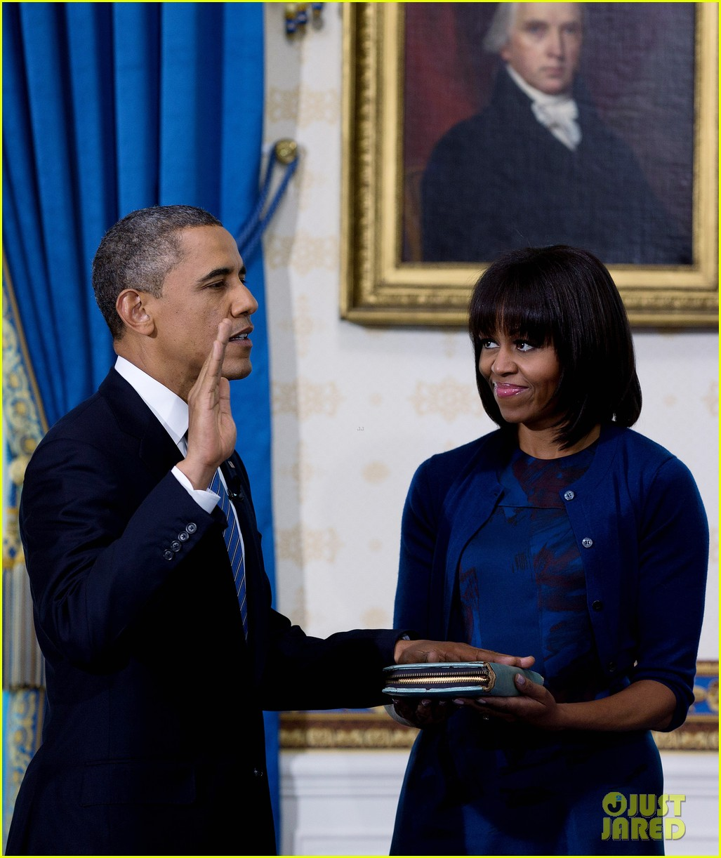 president barack obama sworn into office launches second term 08