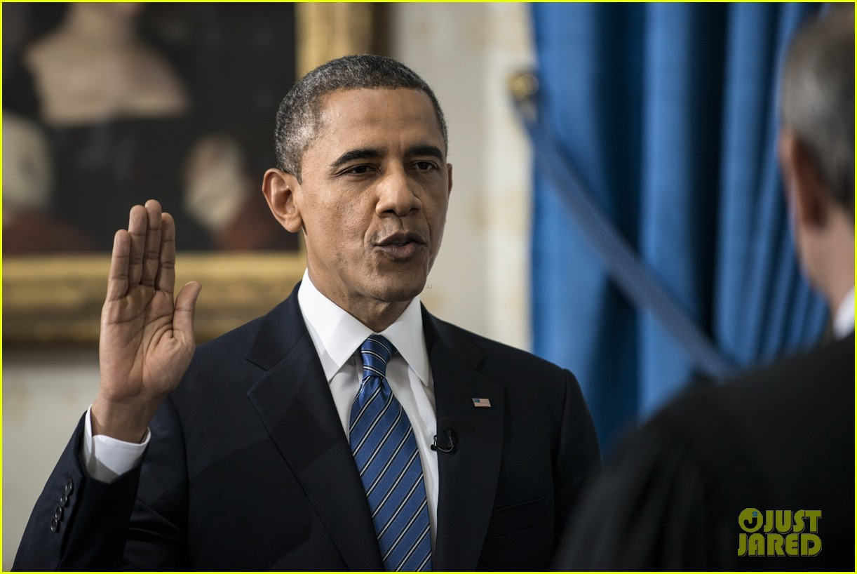 president barack obama sworn into office launches second term 10