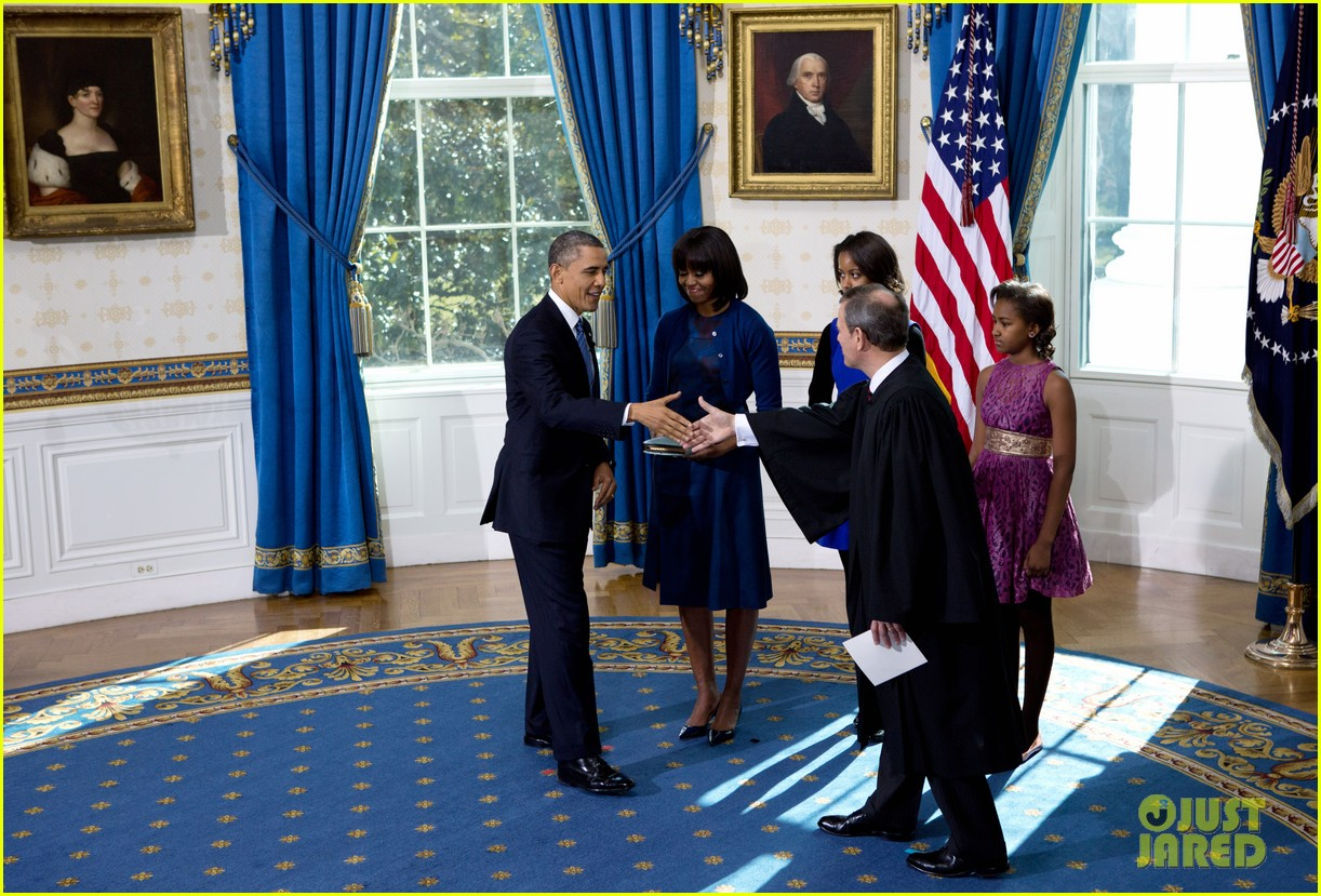 president barack obama sworn into office launches second term 22