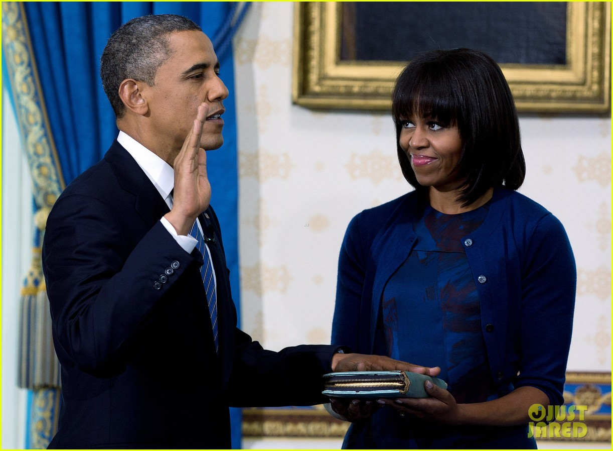 president barack obama sworn into office launches second term 23
