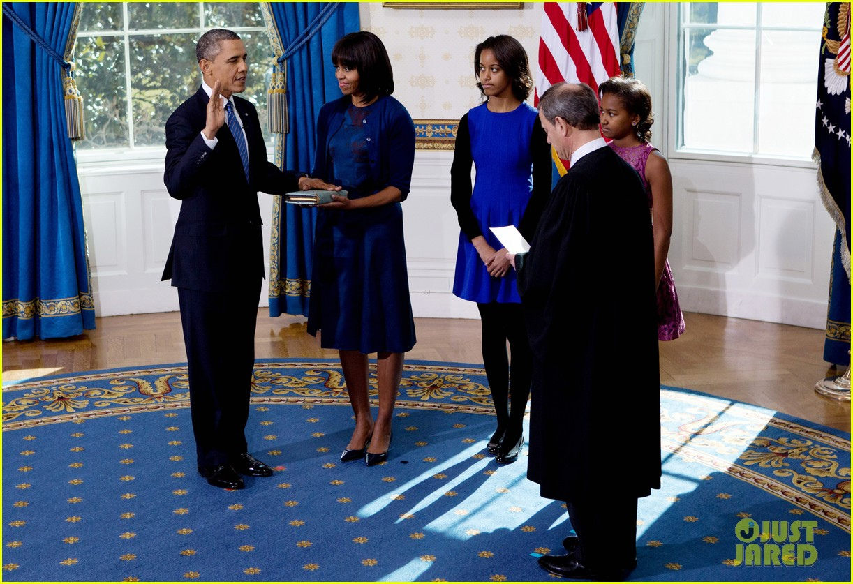 president barack obama sworn into office launches second term 25