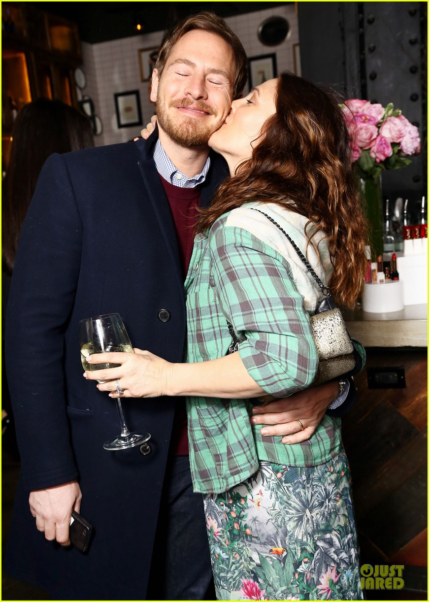 drew barrymore will kopelman flower launch party 04