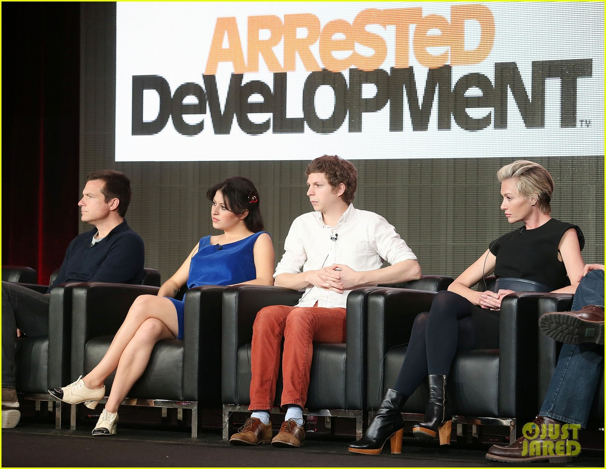 jason bateman portia de rossi arrested development tca panel 012788364