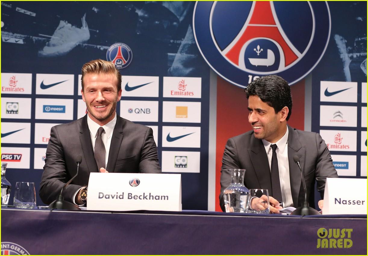 david beckham joins paris st germain soccer team 13