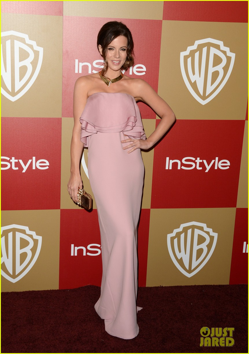 kate beckinsale instyle golden globes party 2013 01