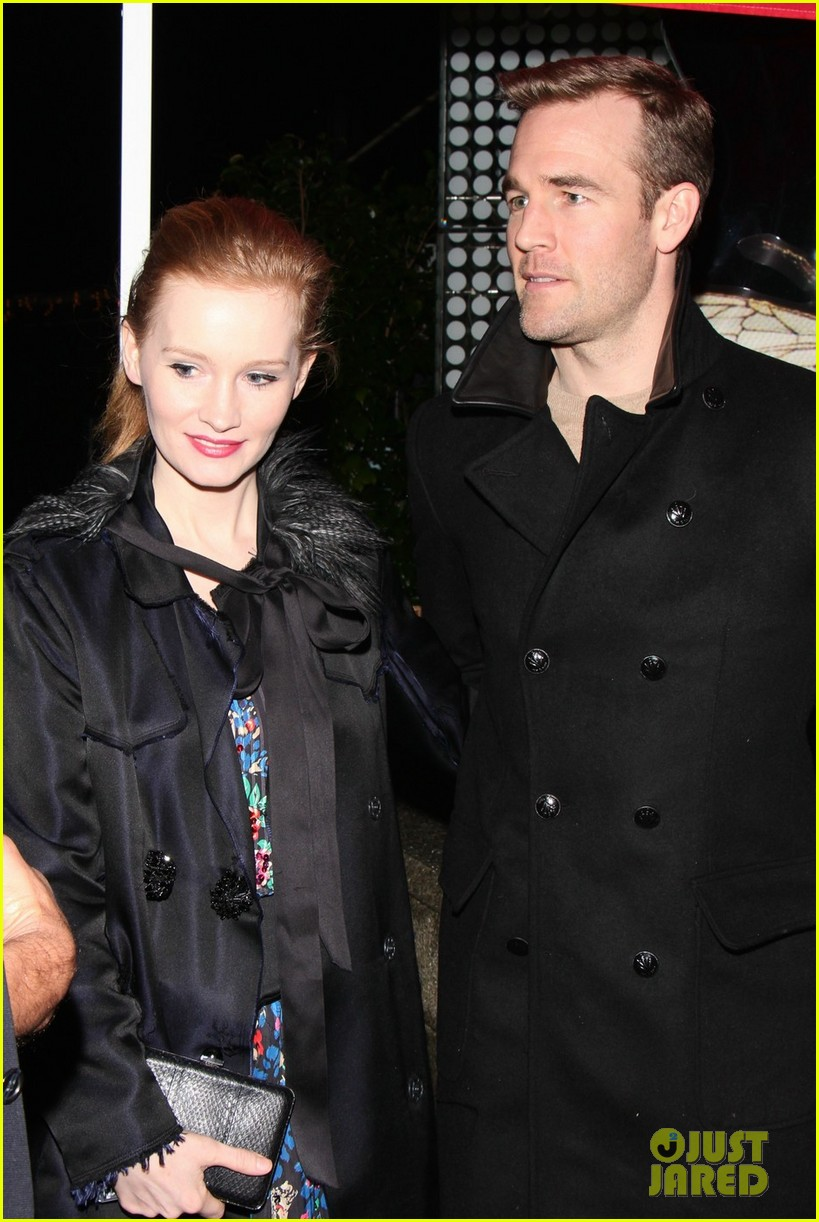 james van der beek kimberly brook boa date night 012782972