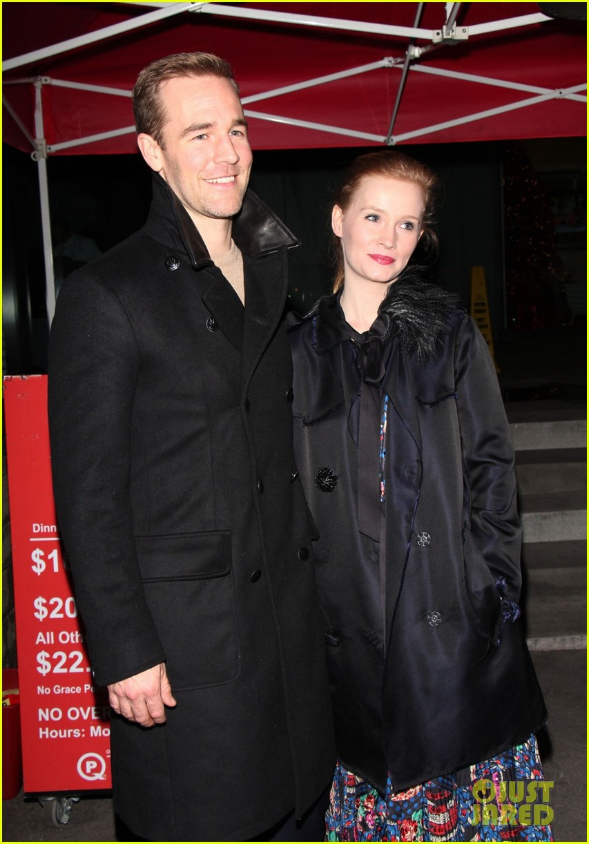 james van der beek kimberly brook boa date night 10