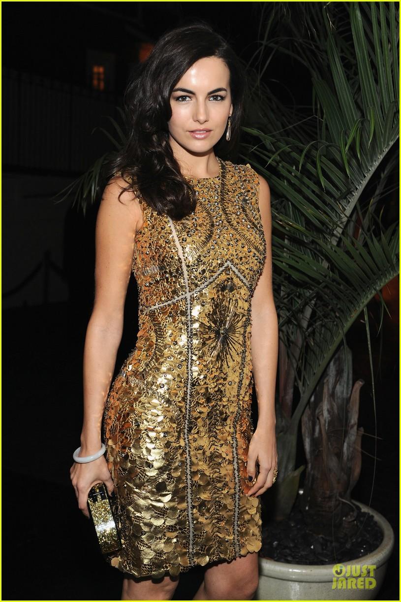 camilla belle ashley madekwe w magazine pre golden globes party 02
