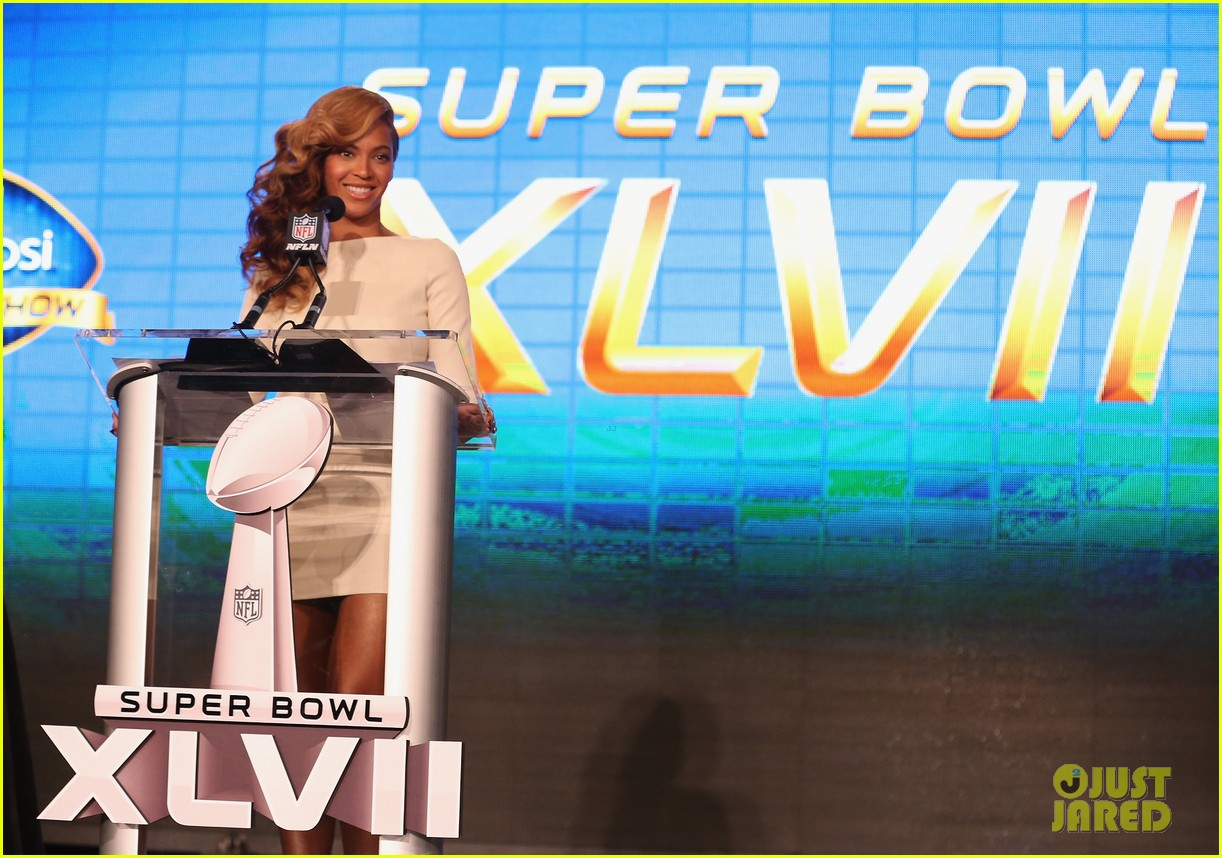 beyonce national anthem live at super bowl press conference 10