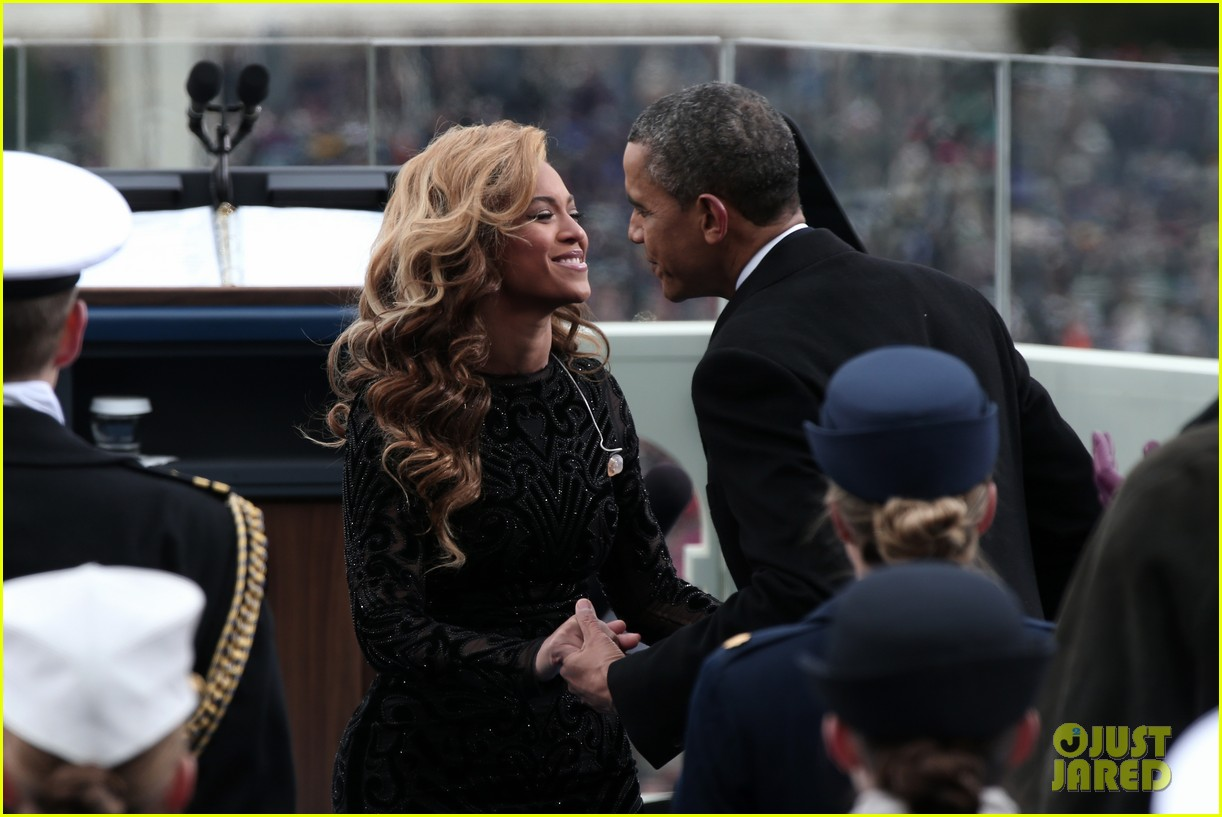beyonce national anthem inauguration performance watch now 02