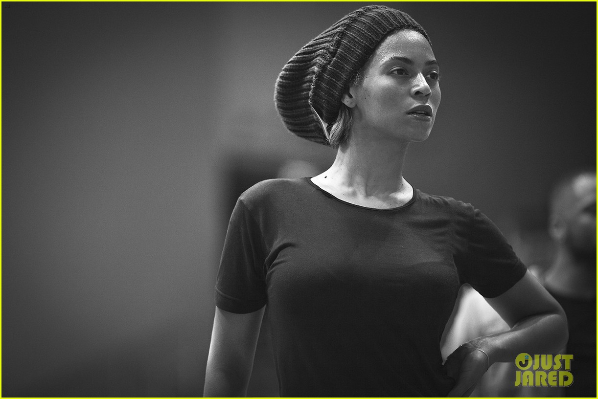 beyonce super bowl halftime show rehearsal new pics 02