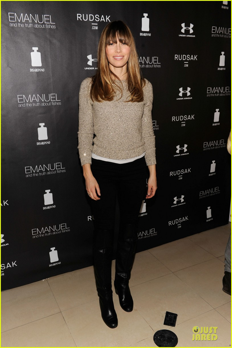 jessica biel emanuel and the truth about fishes sundance dinner 03