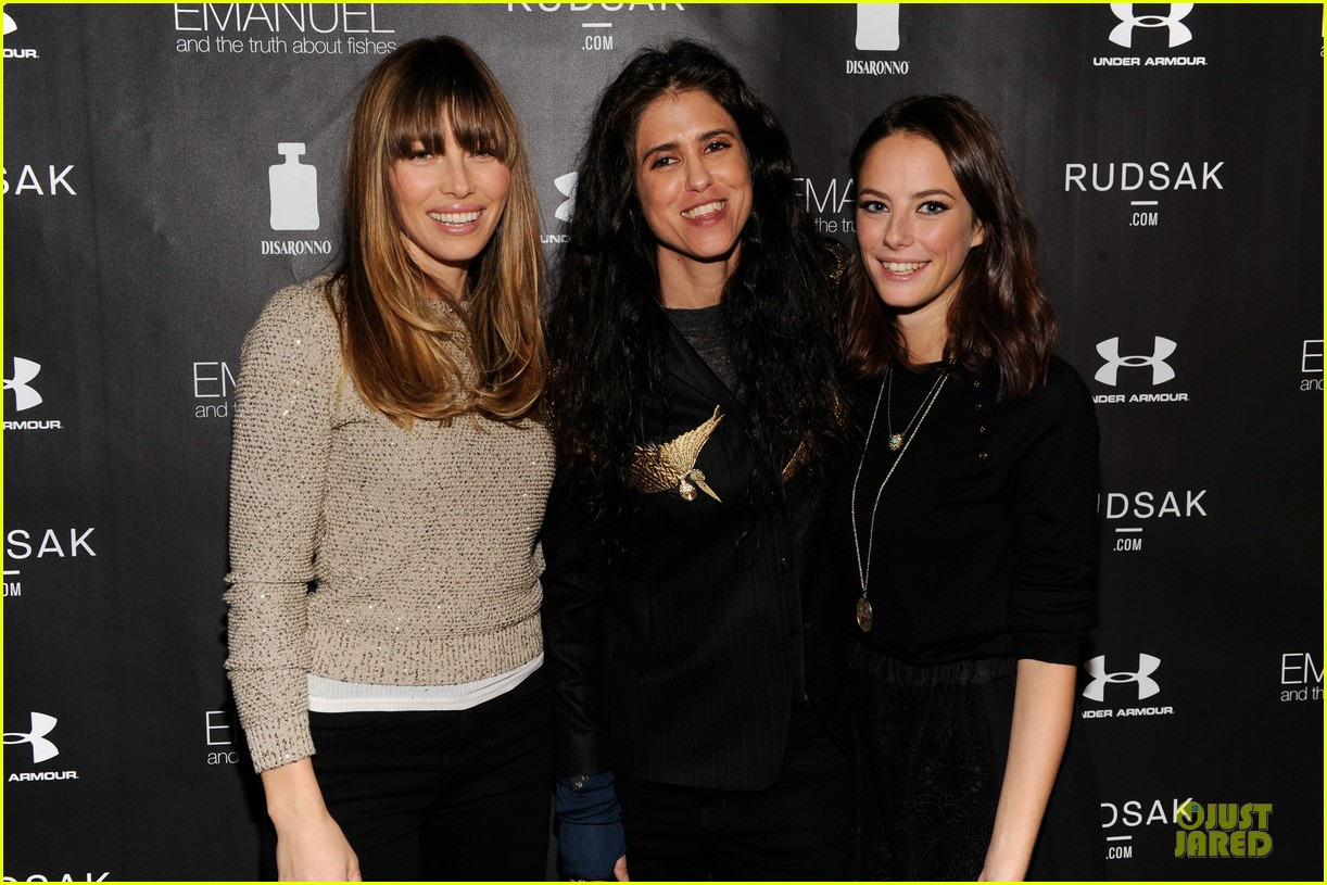 jessica biel emanuel and the truth about fishes sundance dinner 04