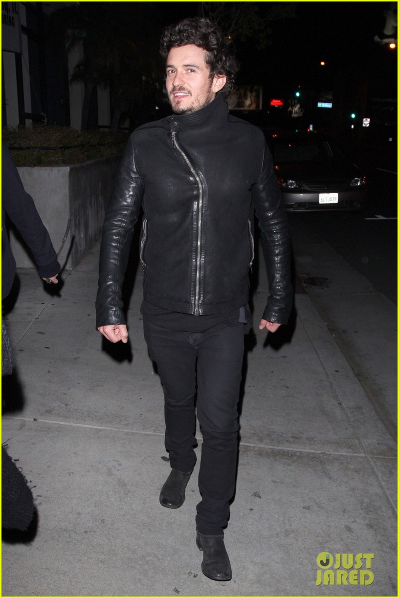 orlando bloom chateau marmont night out 01