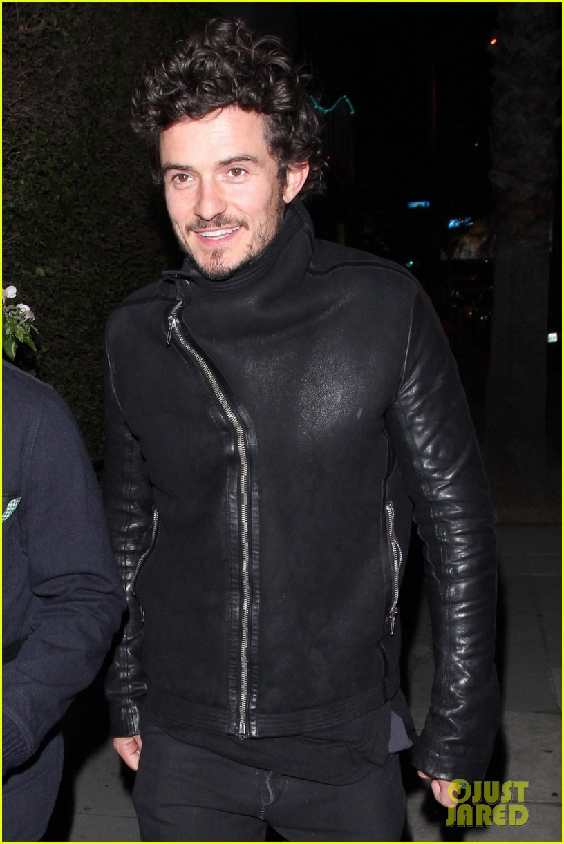 orlando bloom chateau marmont night out 02