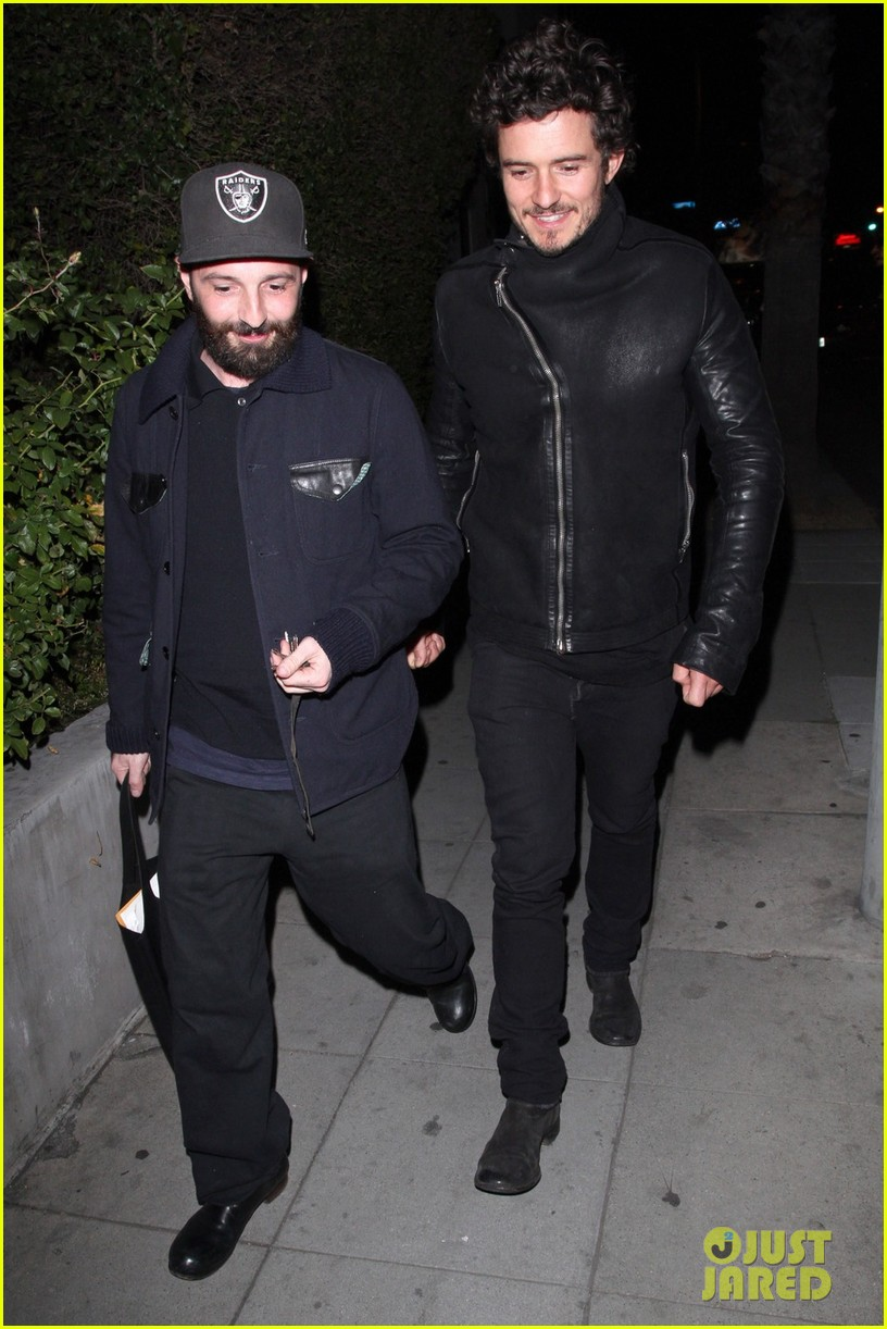 orlando bloom chateau marmont night out 03